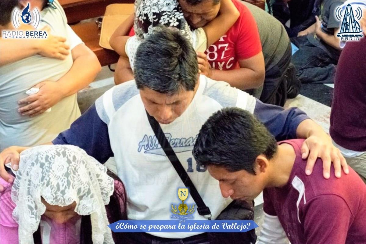 El Mensajero Como se prepara la iglesia de Vallejo